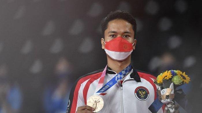 Athony Sinisuka Sumbang Perunggu di Olimpiade Tokyo