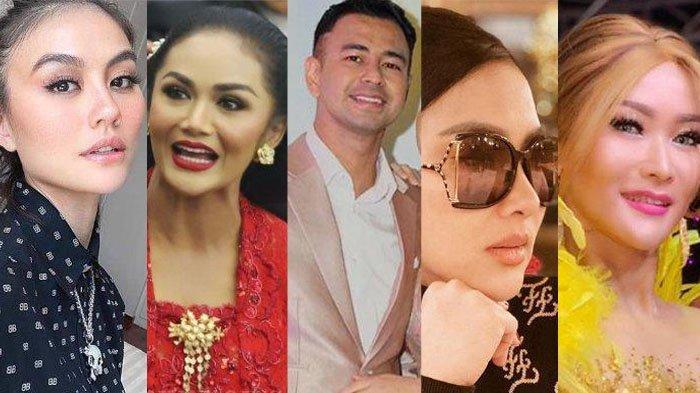 Ada Agnes Mo, Raffi Ahmad, Krisdayanti, Syahrini dan Inul Daratista, Siapa Artis Paling Kaya 2021?