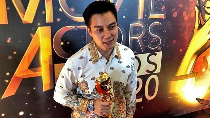 Aktor Baim Wong mulai menjalankan gaya hidup lebih baik dan sehat dengan cara berpuasa dan work out demi mengembalikan tubuh idealnya. Baim Wong di acara IMAA 2020, Sabtu (25/7/2020).