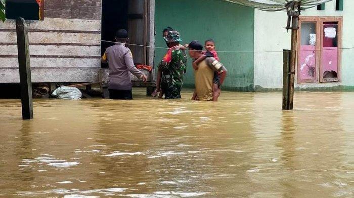 Banjir di Nagan Raya Surut, Masih Ada 3 Desa Lagi yang Terendam Banjir