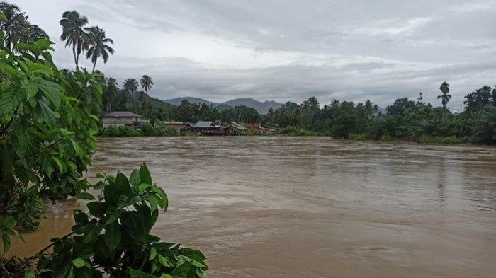 Hujan dan Luapan Sungai, Puluhan Desa di Aceh Jaya Tergenang Banjir