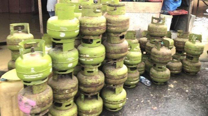 41 Tabung Gas Melon Dibawa Kabur Maling, Korban Rugi Rp 6,8 Juta