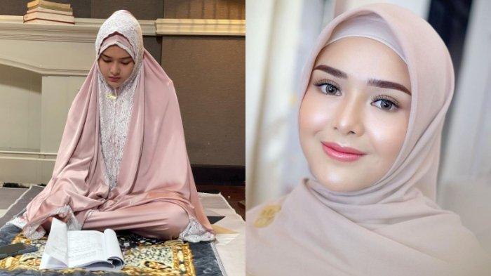 Meski Beragama Nasrani, Amanda Manopo Geluti Bisnis Mukena, Intip Anggunnya Desain Mukena 'Andin'