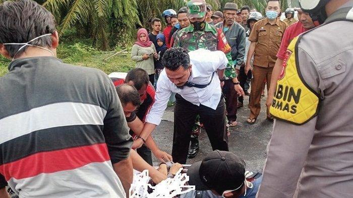 Laga Kambing, Dua Pengendara Sepmor di Tamiang Meninggal