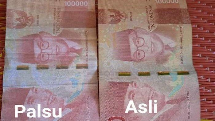 Uang Palsu Rp 100.000 Beredar di Subulussalam, Puluhan Pedagang Korban