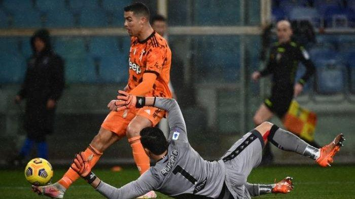 Ronaldo Diledek Lupa Cara Cetak Gol