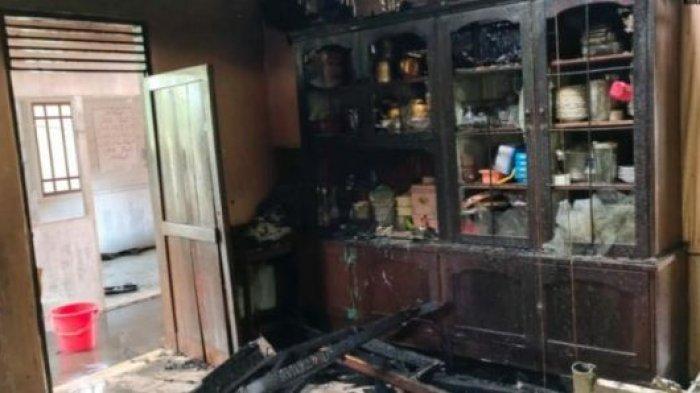 Rumah Warga Miruek Taman Terbakar Jelang Jumat