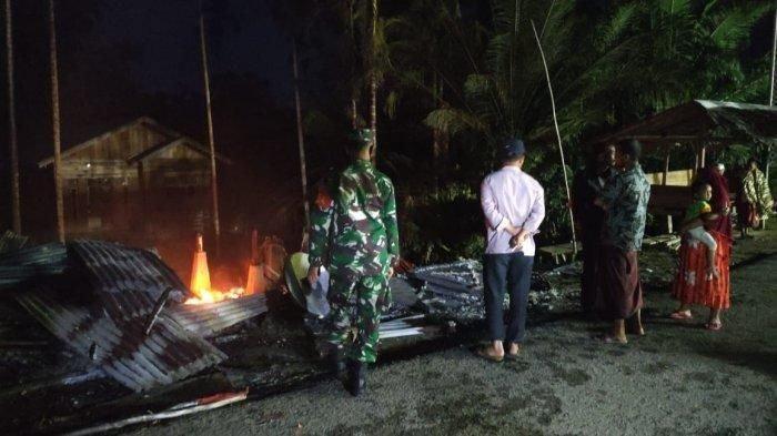 Dua Kedai di Bireuen Musnah Terbakar