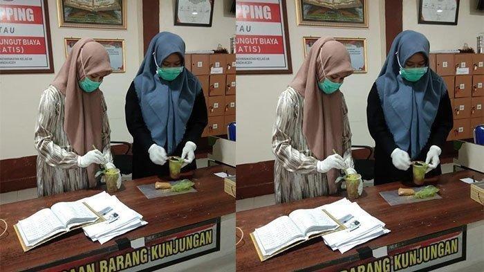 Dua Perempuan Gagalkan Penyelundupan Sabu ke LP, Pengorder Diboyong ke Polresta