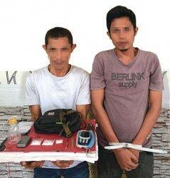 Digerebek di Rumah, Dua Pemuda Dibekuk Polisi