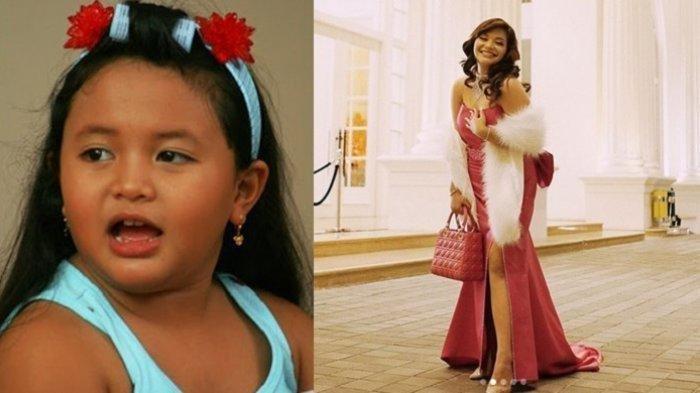 Kini Penampilannya tak Lagi Berponi, Artis Cilik Amel Carla Berubah Menjadi Sosok Gadis Cantik