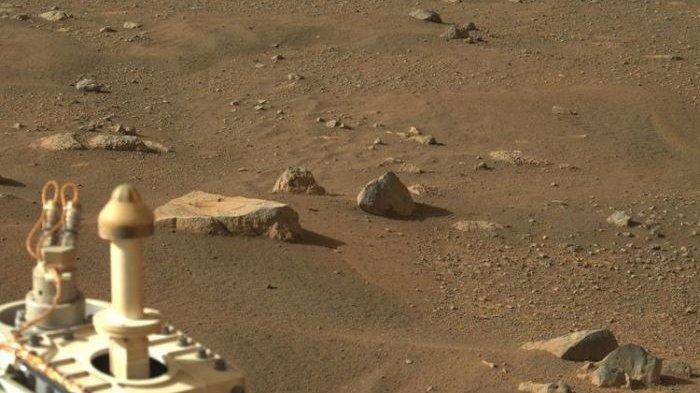 Robot NASA Mulai JelajahiPermukaan Planet Mars