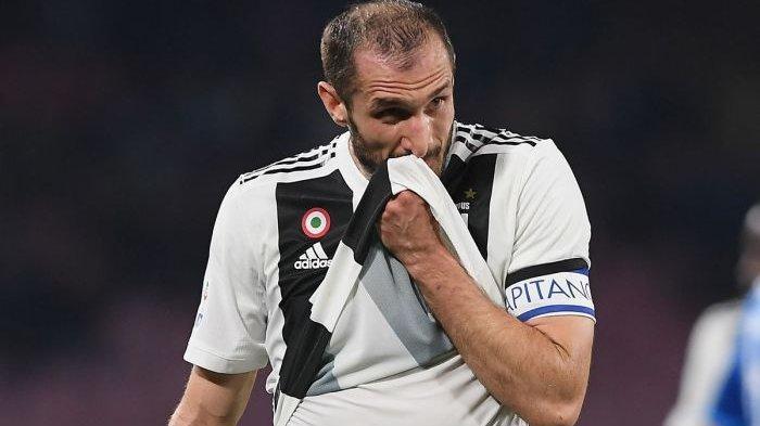 Tak Ada Tawar, Chiellini Masih Tunggu Panggilan Juventus