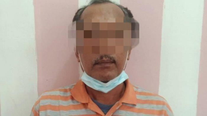 HM terancam hukuman minimal 10 tahun penjara ditambah sepertiga dari ancaman pidana karena pelaku adalah orangtua korban.