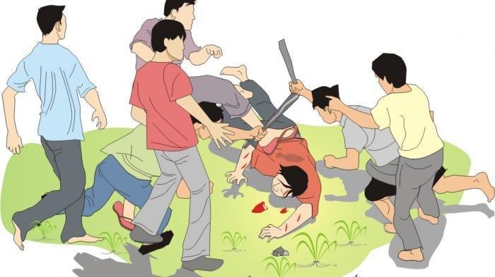 Dua Pedagang Kopi Dikeroyok Petugas BPBD Bandar Lampung