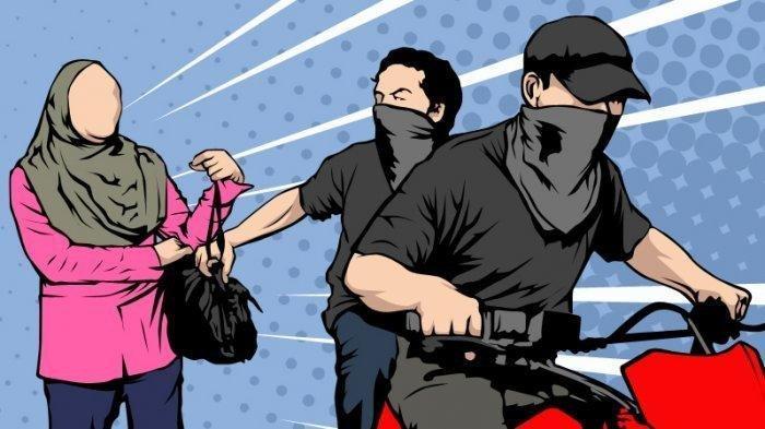 Melintas di Jalan Lingkar, Dua Pelajar Dijambret