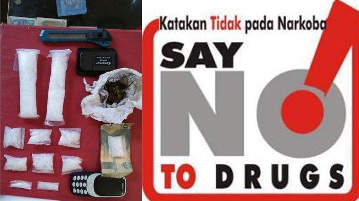 Pengedar Narkotika Merajalela, Pelakunya Mulai Mantan Polisi