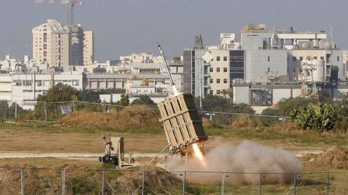 Israel Miliki 'Kubah Besi' Penangkal Roket