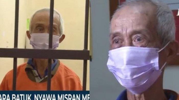 Kakek 70 Tahun Bacok Tetangganya Hingga Tewas, Kesal Mendengar Suara Batuk
