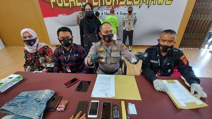 Jual Beli Sabu, Mantan Residivis Diciduk Polisi, Disergap di Simpang Keuramat