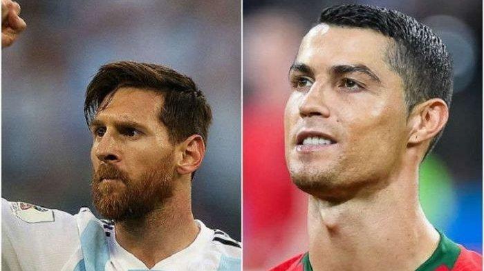 Diminta Melawan Messi, Ronaldo Hanya Tertawa