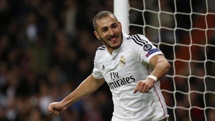 Karim Benzema Jadi Juru Selamat pada Laga Derbi