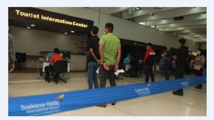 Terjadi di Bandara Soeta, Tak Bawa Sertifikat Covid-19, 100 Calon Penumpang Gagal Terbang