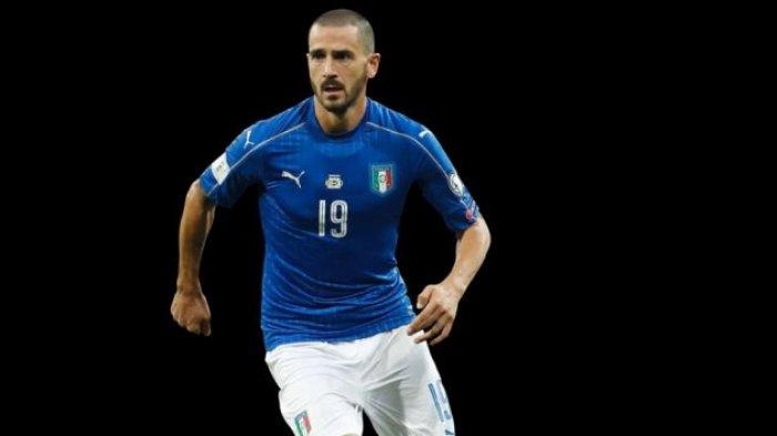 Leonardo Bonucci Antar Italia Juara Euro 2020