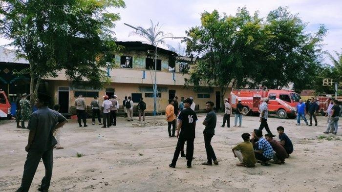 Lima Unit Asrama Santri di Dayah Nurul Ulum Terbakar