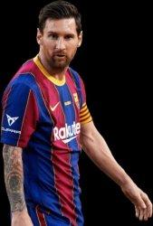 Messi Lepas 'Roket' dan Samai Rekor Xavi