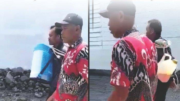 Viral Video Pencuri Diikat dan Diarak Warga