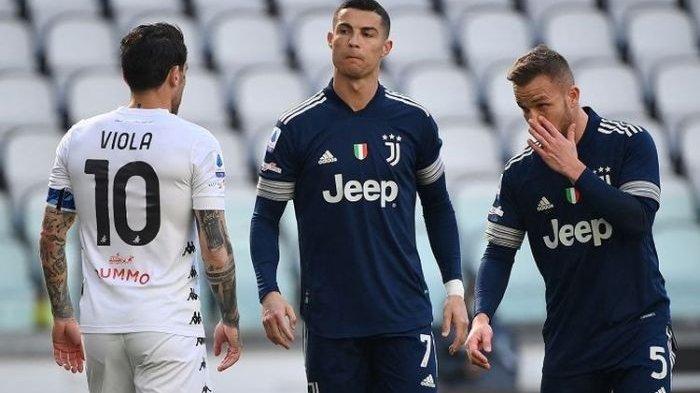 Benevento Permalukan Juventus, Cristiano Ronaldo Jadi Sasaran Tembak