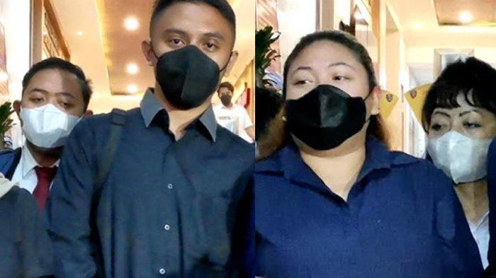 Anak dan menantu Nia Daniaty diperiksa Polisi, Olivia Nathania dan Suami Tak Bersama, Kasus Penipuan CPNS Ancam Rumah Tangganya? (istimewa/kolase/dok Tribunnews.com)