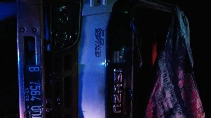 Minibus Terbalik, Dua Mahasiswi Meninggal, Dua PenumpangLainnya Terluka