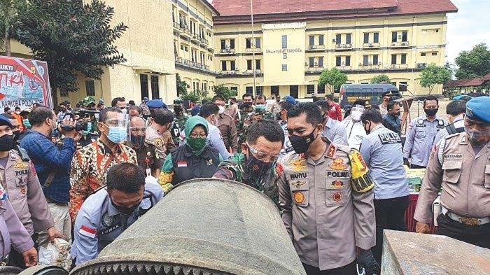 Polda Musnahkan 141 Kg Sabu dan 100.000 Ekstasi, Kapolda Peringatkan Bandar Sabu