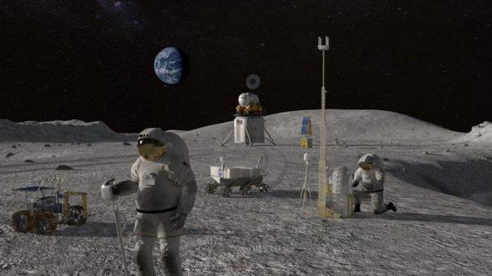 Ilmuwan Hendak Bikin Kapal Nabi Nuh di Bulan