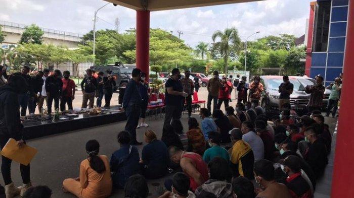 Polisi Gerebek Kampung Narkoba, Banyak Oknum yang Membekingi