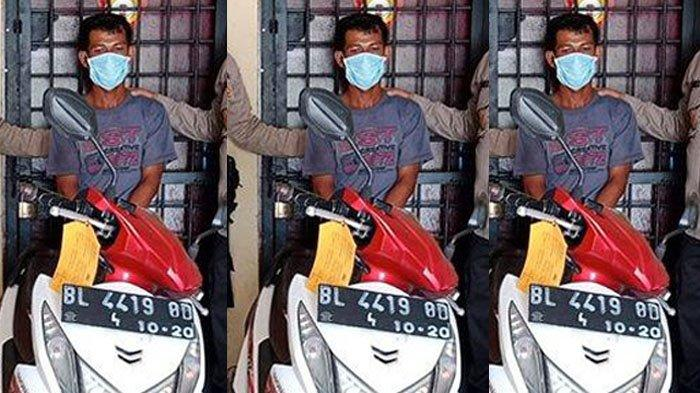 Di Pijay, Bang Hasan Curi Honda Beat Kamariah, Cuma Sempat Pakai Sehari, Sekarang Masuk Penjara