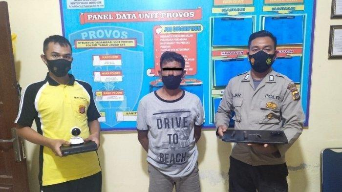 Polisi Tangkap Pembobol Ruko di Tanah Jambo Aye