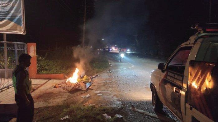 Pengendara Sepmor Meninggal, Setelah Tabrakan dengan Mobil