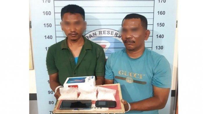 Jual Sabu kepada Polisi, Dua Pria Aceh Utara Diringkus, Satu di Antaranya ASN