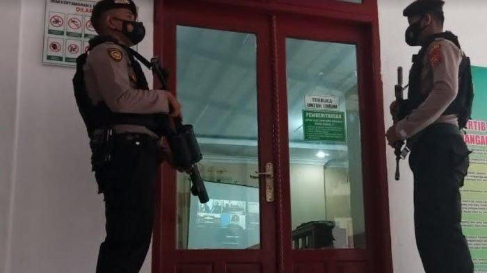 54 Polisi Amankan Jalannya Sidang Kasus Sabu 1,2 Ton