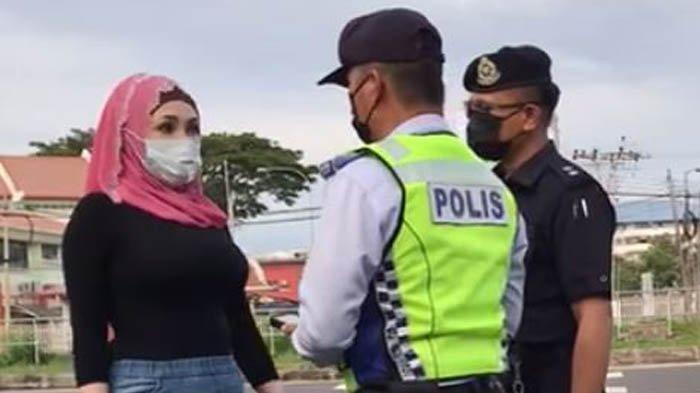 Dibacok dan Dibawa ke Sel Tahanan, Seorang Wanita Cerita di Facebook Tak Terima Ditilang Polisi