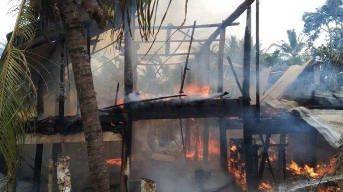Dua Rumah Terbakar di Aceh Besar