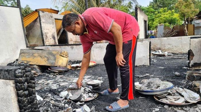 Dua Rumah di Pijay Hangus Gegara Korslet Listrik