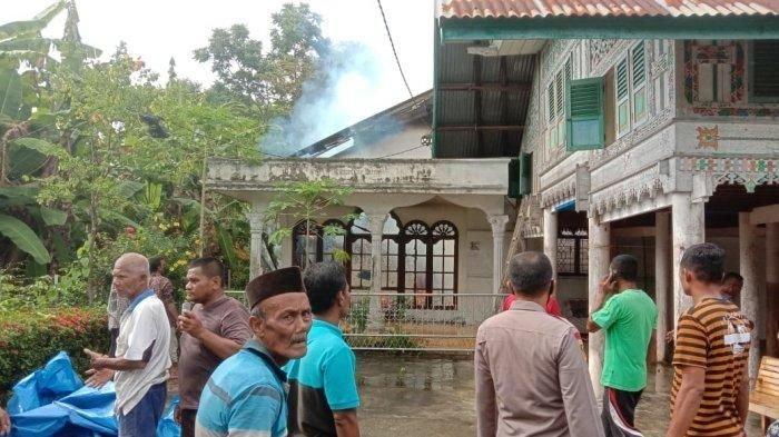 Rumah Petani Pidie Terbakar, Uang Rp 50 Juta Hangus