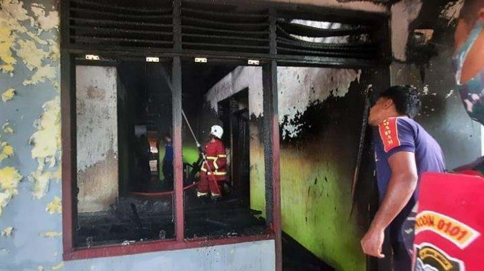 Rumah Warga Ujung Blang Musnah Dilalap si Jago Merah