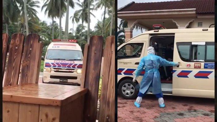 Viral Ambulans Jemput Satu Per Satu Anggota Keluarga yang Positif Covid-19: Besar Jihad Kali Ini