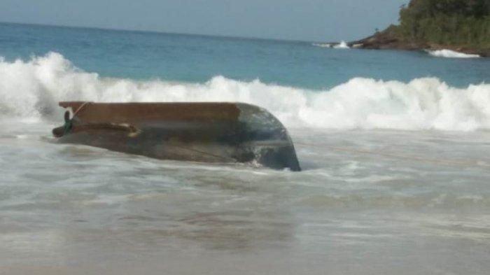 Boat Nelayan Asing Terdampar di Pulo Aceh, Ada Mayat Tanpa Kepala