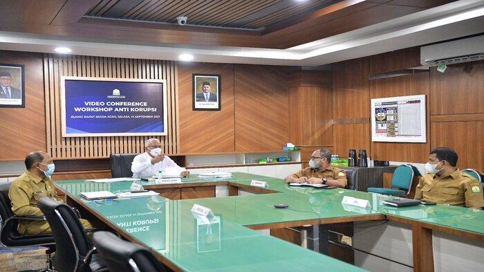 Sekretaris Daerah Aceh Ikuti Workshop Anti Korupsi bersama BPK RI